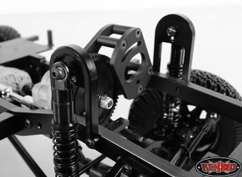 FRONT Shock Suspension Hoops Absorber Mounts Mounting Gelande 2 G2 RC4WD Z-S0798