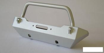 SSD Rock Shield NARROW Winch Bumper Axial SCX10 SILVER SSD00141 inc mount RC