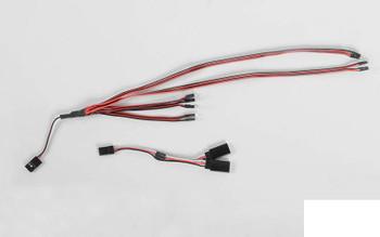 LED Basic Lighting System 1/18 BlackJack Body Z-E0102 RC4WD Ford Bronco lights