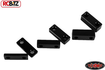 RC4WD Superlift Suspension Lift Block Set BLACk Leaf springs TF2 Metal Z-S0834