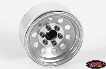 "RC4WD 1.9"" 2.2 6 Lug Steel Wheel Hex hub +9 Offset OEM Wagon Stamped Z-S0780"