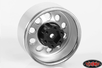 "RC4WD 1.9"" 6 Lug Steel Wheel Hex Hub +6 Offset OEM Waggon Stamped Wheels Z-S0779"
