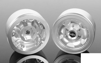 "Breaker 1.55"" Beadlock Wheels Z-W0273 RC4WD scale bolts and centre Hubs TF2 G2"