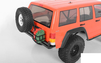 RC4WD Tough Armor Swing Away Tire Carrier w/Fuel Holder Axial SCX10 II Z-X0051