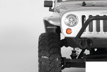 Aluminum Tube Front Fender Axial Jeep Rubicon SCX10 RC SILVER Z-S1154 RC4WD