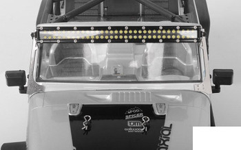 Light Bar Mounts for Axial Jeep Rubicon SILVER Z-S1806 RC4WD TOY Bracket RC