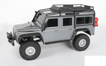"Spider 1.9"" Beadlock Wheels Z-W0150 RC4WD 5 Spoke truck style Scale Bolts TRX-4"