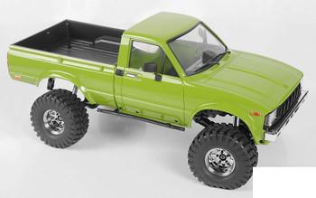 "Deep Dish Wagon 1.55"" Stamped Steel Beadlock Wheels CHROME Z-W0285 RC4WD G2"