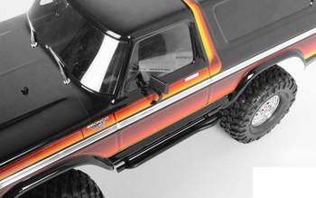 Tough Armor Steel Welded Side Sliders for Traxxas TRX-4 Z-S1860 RC4WD TRX4 TRX 4