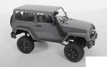 RC4WD Safari Snorkel For 1/18 Black Rock Body Z-S1905 18th scale Jeep RUBBER RC