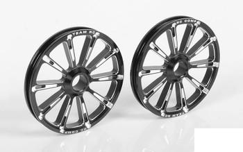 RC4WD RC Components Hammer 2 Drag Race FRONT Wheels Z-W0110 CNC Billet RC