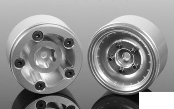 "RC4WD Stocker 1.0"" Beadlock Wheels Z-W0275 18th scale micro Aluminium 7mm Hex"