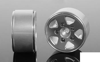 JK 1.0 Scale Beadlock Wheels Z-W0279 RC4WD 18th scale micro Aluminium 7mm Hex