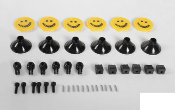 RC4WD KC HiLiTES Daylighter Light Set Z-S1856 Plastic YELLOW guard 3mm LED 17mm