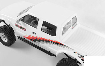Tough Armor Narrow Steel Sliders for Trail Finder 2 LWB Z-S1916 RC4WD TF2 METAL