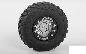 "RC4WD 1.0"" Competition Beadlock Wheels Z-W0278 CNC ally 18th G2 ALL MODELS"
