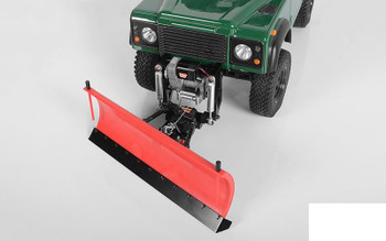 RC4WD Super Duty Blade Snow Plow RED Z-X0041 Swival raise 228mm ABS & Ally TOY
