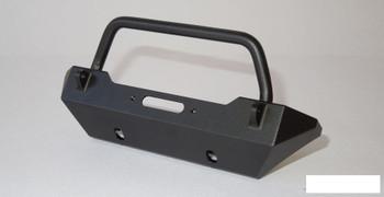 SSD Rock Shield Narrow Winch Bumper SCX10 BLACK SSD00138 Warn Ox 3Racing