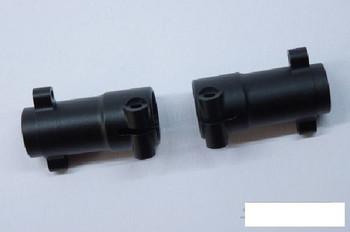 SSD Pro Aluminum Rear Lockouts for SCX10 II BLACK SSD00146 Fits AR44 Add Weights