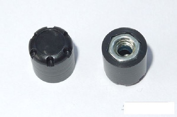 SSD Rear Hubs BLACK SSD00178 Scale Hub Alloy (2) requires tool 10 x 10.5mm