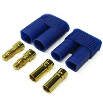 Etronix EC5 5mm Gold Connectors (Male Female) ET0608 Losi Vateera EC 5 RC