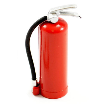 Fastrax scale Fire Extinguisher & Alloy Mount FAST2325R 10th 45x15mm accessory