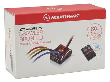 Hobbywing Quicrun 1080 WP 80amp Waterproof Brushed Crawler ESC HW30112750