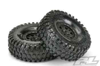 Proline Hyrax 1.9  G8 Tyres On Impulse Black B/ Lock Wheels PL10128-10 Class 2