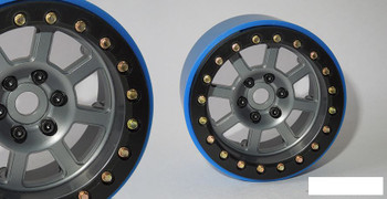 "SSD 2.2"" Wide Assassin PL Beadlock Wheels GREY SSD00187 Pro-Line SCX10 II"