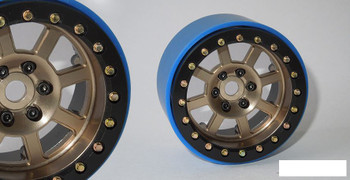 "SSD 2.2"" Wide Assassin PL Beadlock Wheels BRONZE SSD00189 Pro-Line TRX-4 GOLD"