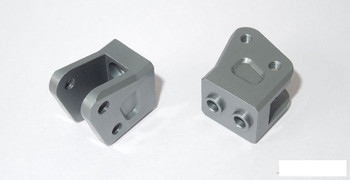 SSD Diamond Axle Link Mounts for Yeti Wraith GREY SSD00256 Suspension mount