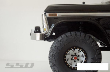 SSD Bronco Winch Bumper for TRX-4 CHROME SSD00273 Traxxas TRX4 Ford lightweight
