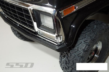 SSD Bronco Rock Shield Front Bumper for TRX-4 SSD00277 LOW Profile Traxxas TRX4