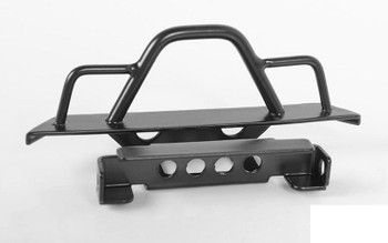 Steel Front Bumper for 1/18 Gelande II RTR W/BlackJack BLACK VVV-C0545 RC4WD