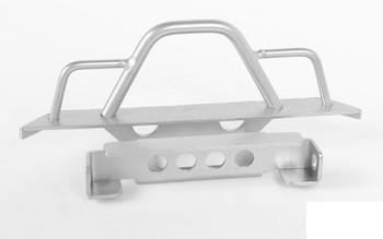 Steel Front Bumper for 1/18 Gelande II RTR W/BlackJack  SILVER VVV-C0546 RC4WD