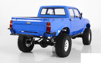 RC4WD Mojave II Four Door Complete Body Set BLUE Z-B0151 RC4WD Hilux