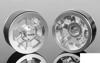 "RC4WD Yota Narrow Offset 1.9"" Beadlock Wheels Z-W0283 Positive 6mm reduce track"