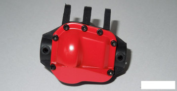 SSD Pro44 HD Metal Diff Cover RED SSD00216 Heavy alloy + screws 12g Differential