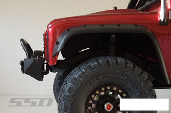 SSD Rock Shield Narrow Winch Bumper for TRX-4 SCX10 II SSD00235 Traxxas TRX4 TRX