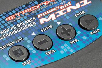 Etronix Powerpal Mini AC 6A 60W Balance Charger Discharger ET0204 Portable