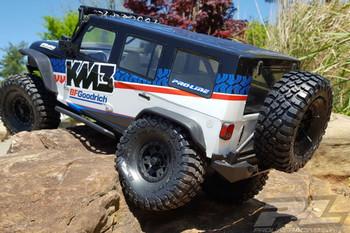 Proline Bf Goodrich Mud Terrai N T/A KM3 1.9 G8 Rock Tyres PL10150-14 120mm
