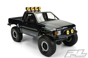 Proline 1985 Toyota Hilux SR5 CLEAR Body Cab + Bed SCX10 313mm WB PL3466-00