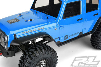 Proline Jeep Wrangler Rubicon Unlimited CLEAR Body TRX-4 PL3502-00 TRX4 TRX 4