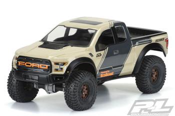 """Proline 2017 Ford F150 Raptor CLEAR Body 313mm Crawler PL3516-00 SCX10 II 12.3"""""""