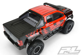 Proline Chevy Colorado ZR2 CLEAR Body for 313mm Crawler PL3517-00 SCX10 II 12.3""