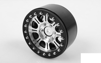 6 Lug Hitman 1.9 Scale 6 Bolt Beadlock Wheels Hex Mount Mount RC4WD Z-W0140
