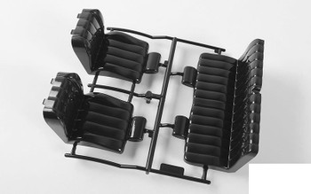 RC4WD 1985 Toyota 4Runner Seats (A) Z-B0188 Seat FRONT 4 runner shell ABS Parts