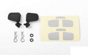 RC4WD 1985 Toyota 4Runner Rubber Mirror Z-B0196 4 runner wing mirrors & decal