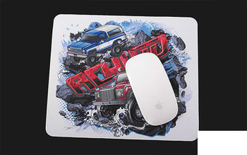 RC4WD Official Mouse Pad Z-L0120 Place Mat 235 x 197mm D90 K5 Blazer Blue Red