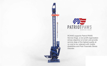 RC4WD 1/10 Hi-Lift Patriot Edition Jack Z-S1954 Scale TOY Functioning Hi Lift RC